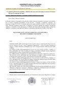 UNIVERSITÁ DELLA CALABRIA - Lettere e filosofia - Università ... - Page 7