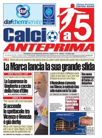 Immagine - Calcio a 5 Anteprima
