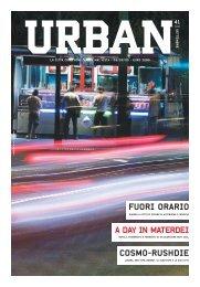 A DAY IN MATERDEI COSMO-RUSHDIE FUORI ORARIO - Urban