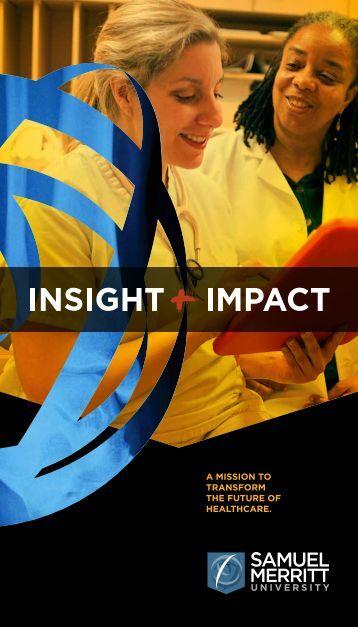 Report to the Community - Samuel Merritt University