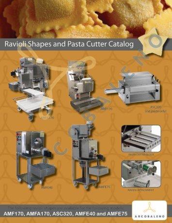 Ravioli Shapes and Pasta Cutter Catalog - Arcobaleno