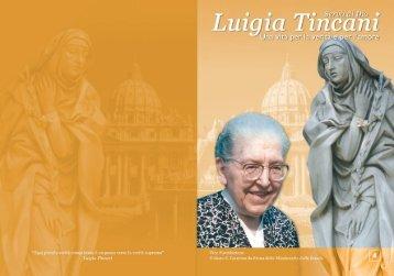 La vita di Luigia Tincani - Missionarie della Scuola