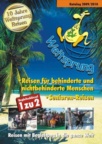 Der Katalog im *.pdf-Format - Weitsprung Reisen