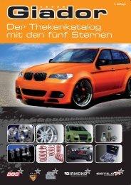 Der Thekenkatalog mit den fünf Sternen - Car & Bike Tuning GmbH