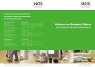 Wohnen im Dresdner Süden! - bei der WGS Dresden