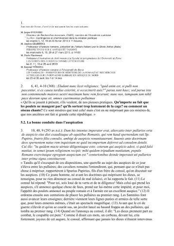 """1. 2. 6, 41, 4-10 (368) : Eludant nunc licet religiones: """"quid enim est ..."""