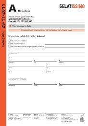 Order form - Messe Stuttgart