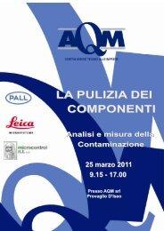 4-seminario LA PULITURA DEI COMPONENTI - Leica Microsystems
