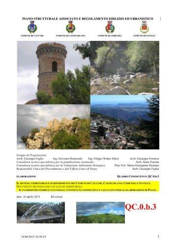 patrimonio storico culturale - Comune di Castelsilano