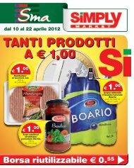 TANTI PRODOTTI A € 1,00 - Simply Market