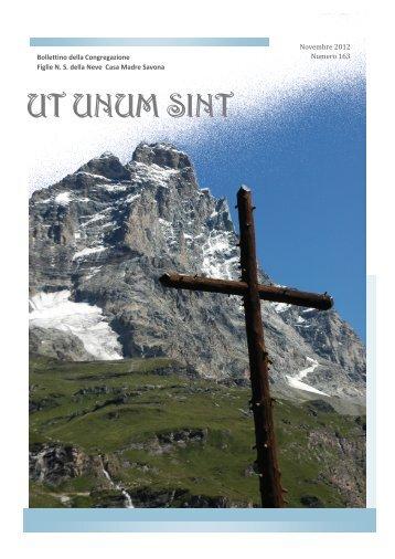 UT UNUM SINT - Congregazione Figlie NS Della Neve
