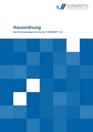 PDF Download - Wohnungsbaugenossenschaft VORWÄRTS eG