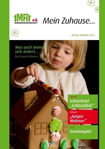 """Mein Zuhause 12/11.pdf - Wohnungsgenossenschaft """"1. Mai"""""""