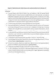 1 Allegato B – Modulo dichiarazioni riferita al possesso dei requisiti ...