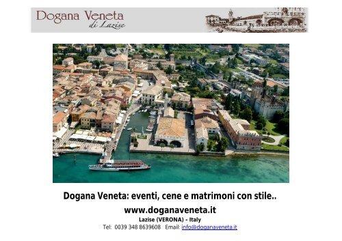 Dogana Veneta: eventi, cene e matrimoni con stile.. - Event Report