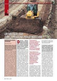 un'archeologa con lapassione per le macchine un ... - FederUnacoma