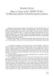 Bruto e Cassio in Inf. XXXIV 55-69 e la riflessione politica fiorentina ...