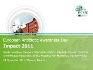 European Antibiotic Awareness Day: - ECDC