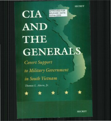 Covert Support to Military Government in South Vietnam - CIA FOIA