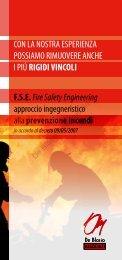 FSE Fire Safety Engineering - De Blasio Associati