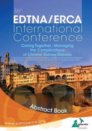 2007 Florence Conference Abstract Book - edtna/erca