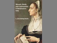 Women, Books and Communities in Renaissance Italy - British Library