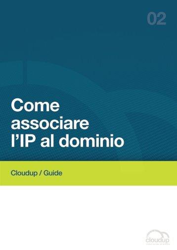 Come associare l'IP al dominio 02 - Cloudup