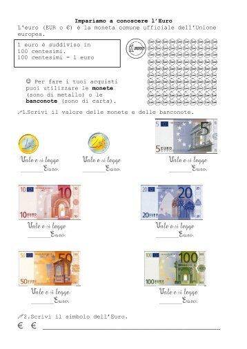 L'euro - La Teca Didattica