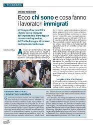 Ecco chi sono e cosa fanno i lavoratori immigrati - Ermes Agricoltura