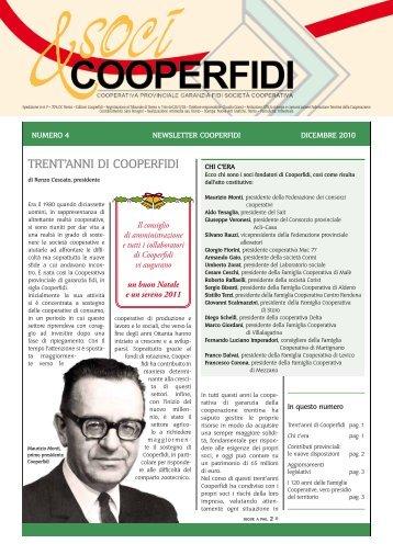 TrenT'anni di Cooperfidi - Federazione Trentina della Cooperazione