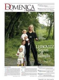 LEIBOVITZ - La Repubblica