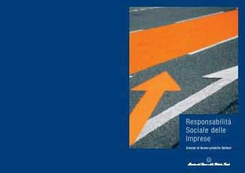Responsabilità Sociale delle Imprese - Il Bilancio Sociale in Italia