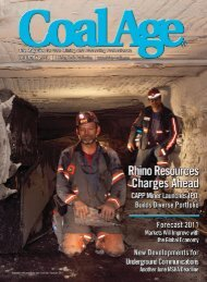 Miners quickly adopt new communications systems - Radio ...