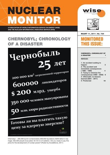 CHERNOBYL; CHRONOLOGY OF A DISASTER - Antenna
