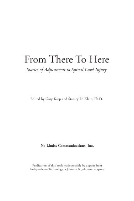 From There To Here - Gary Karp's Life On Wheels