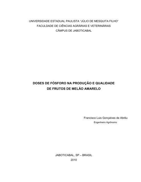 660598a82fbe7 visualizar - UNESP  Câmpus de Jaboticabal
