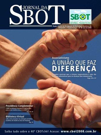 Jornal da SBOT # 80.indd - Sociedade Brasileira de Ortopedia e ...