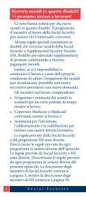 Lavorando Mentre Disabilitado—Come Possiamo ... - Social Security - Page 4
