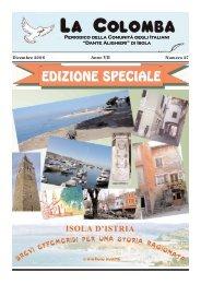 """EDIZIONE SPECIALE - Comunità degli Italiani """"Dante Alighieri"""""""