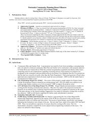 Peninsula Community Planning Board Minutes - City of San Diego
