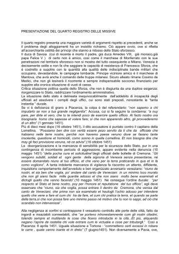 Registro missive n. 4 - Istituto Lombardo Accademia di Scienze e ...
