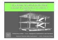 il progetto delle strutture - Ingegneria Civile e Ambientale ...