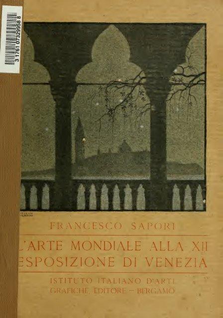 La Dodicesima Esposizione d'arte a Venezia, 1920