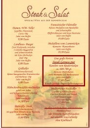 Teller Gegrilltes Putensteak Curry- Dip Salat ... - Landhaus Schaaf
