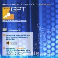 Descargar Nº 13 - Revista Gestión de las Personas y Tecnología