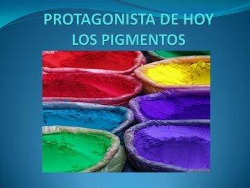 PROTAGONISTA DE HOY LOS PIGMENTOS - Artes Tradicionales
