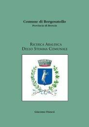 Volumetto Stemma Comunale - Comune di Borgosatollo