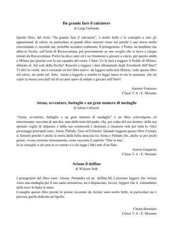 recensioni - Direzione Didattica Statale 2° Circolo Mira