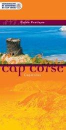 guides pratiques - Communauté de Communes du Cap Corse