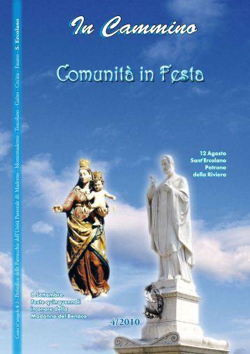 Bollettino n°4-2010 - unita' pastorale sant'ercolano